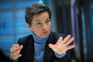 크리스티아나 피게레스 UN 기후변화협약 사무총장. 네이처가 선정한 올해의 과학계 인물 10인 중 1위를 차지했다. - Scott Eells 제공